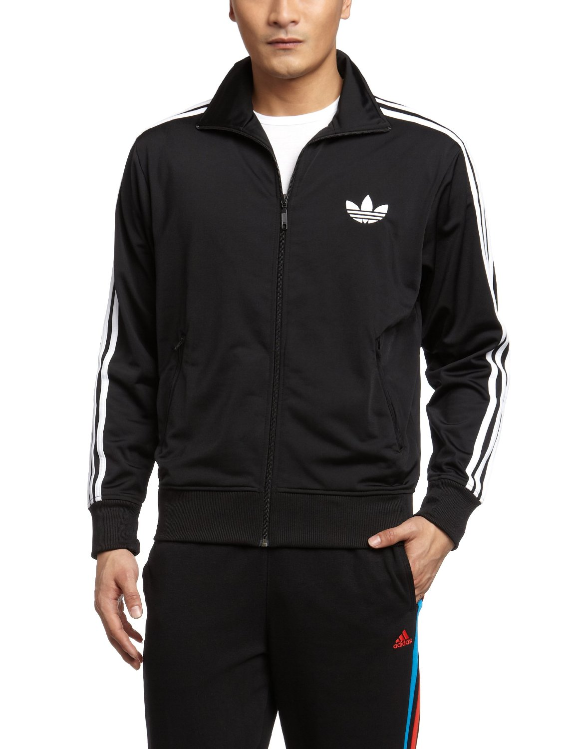 geschenkidee schwarze adidas trainingsjacke. Black Bedroom Furniture Sets. Home Design Ideas